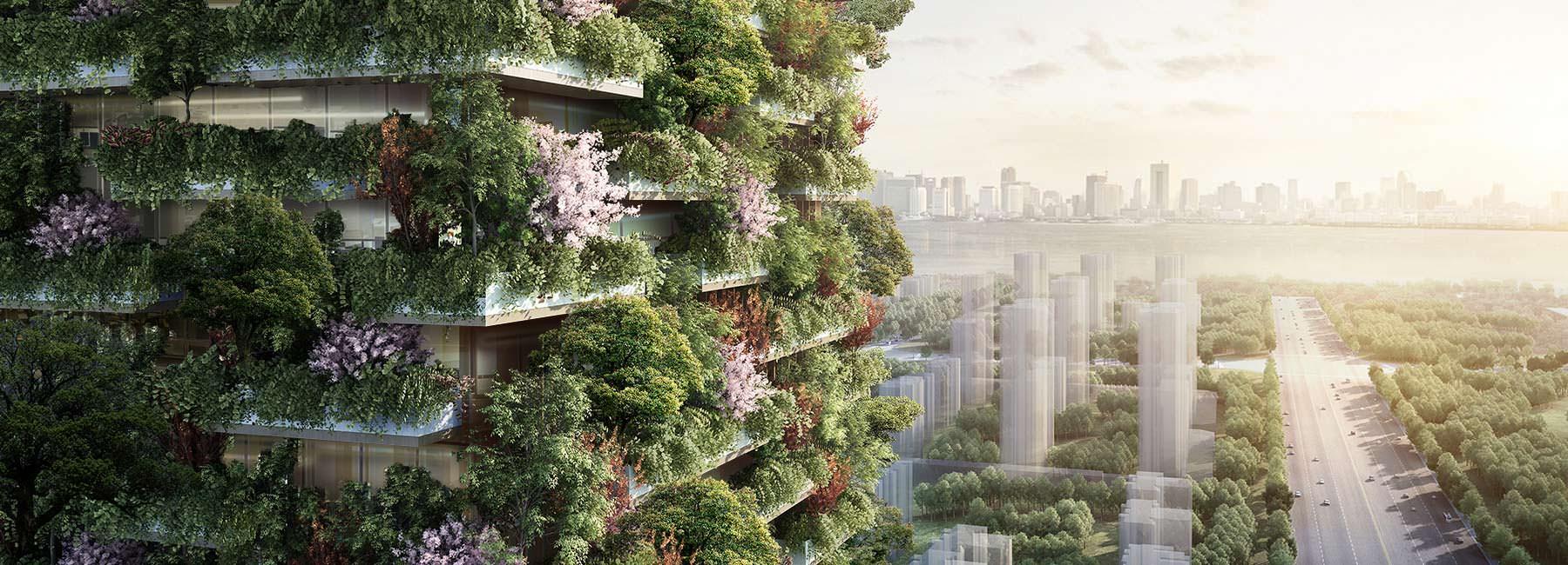 «Вертикальный лес» в Китае от Стефано Боэри