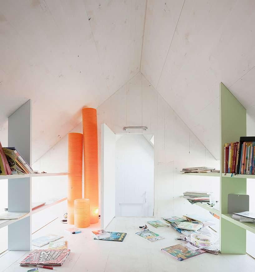 Дизайн комнаты на чердаке
