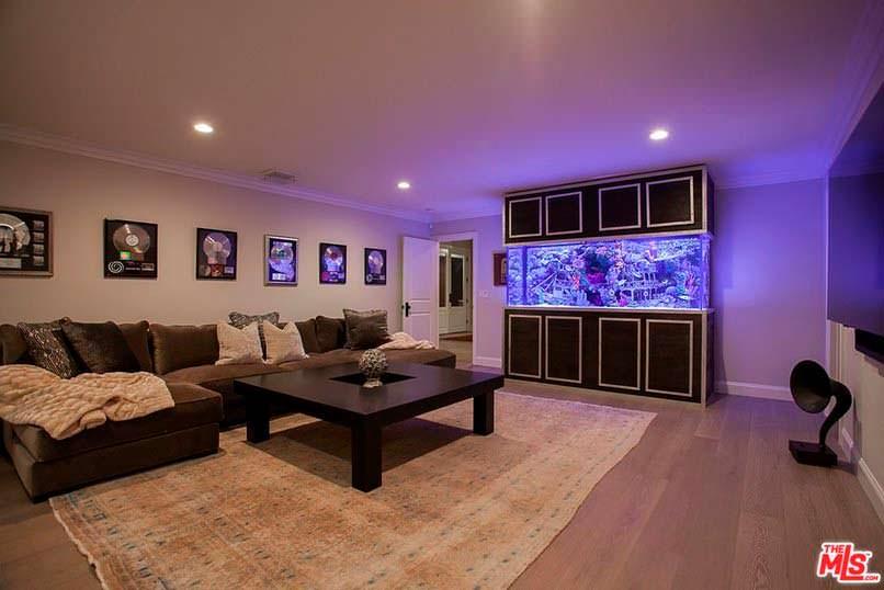 Фото | Дизайн комнаты с аквариумом
