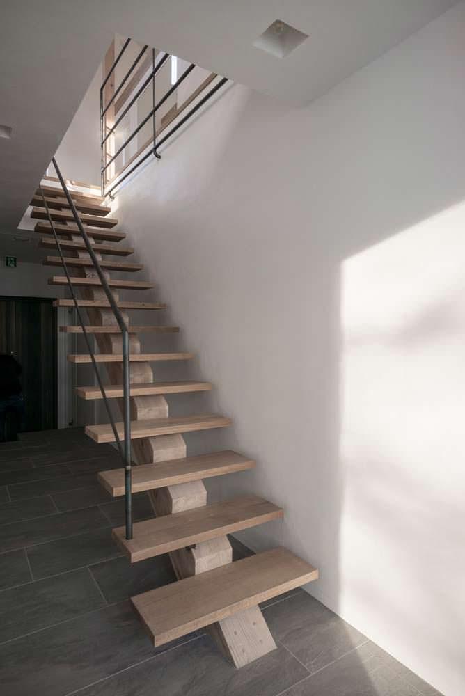Дизайн лестницы от Florian Busch Architects