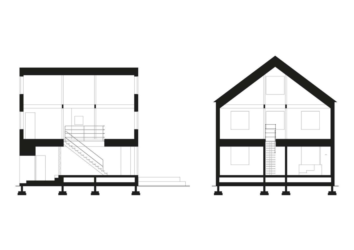 План горного шале по-японски от Florian Busch Architects