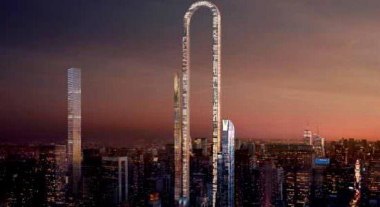 The Big Bend: самый длинный небоскреб построят в Нью-Йорке
