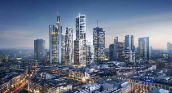UNStudio построит новые небоскребы во Франкфурте | фото
