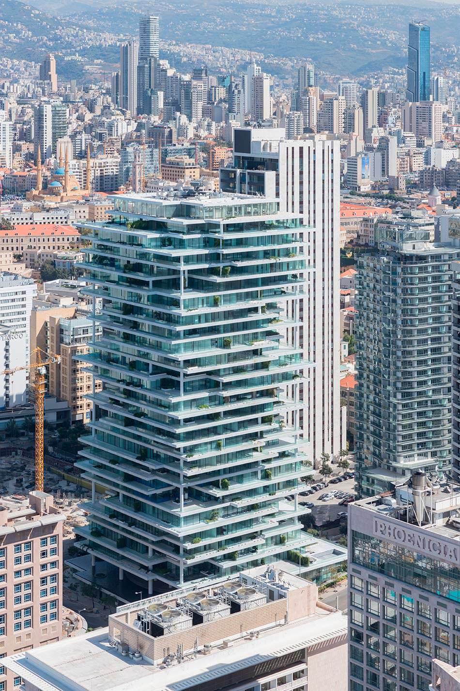 ЖК Beirut Terraces в Ливане. Проект Herzog & De Meuron