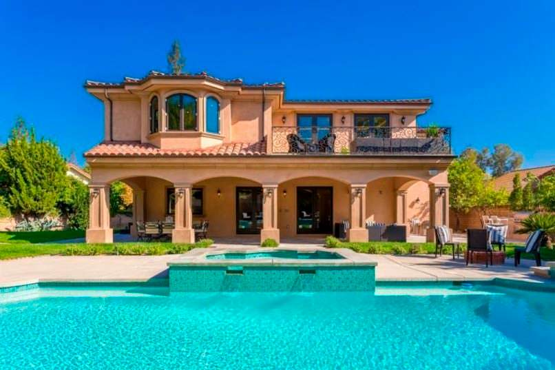 Фото | Дом мечты Зендаи в Калифорнии