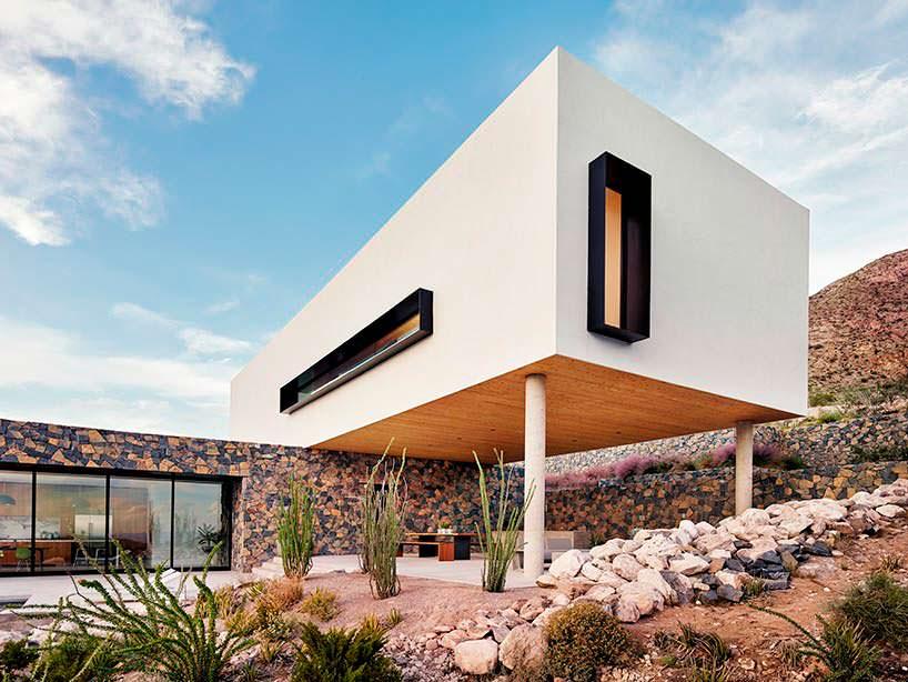 Фото | Зона барбекю у горного дома в Эль-Пасо, Техас