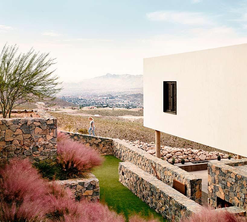 Проект дома на сложном рельефе гор от Hazelbaker Rush
