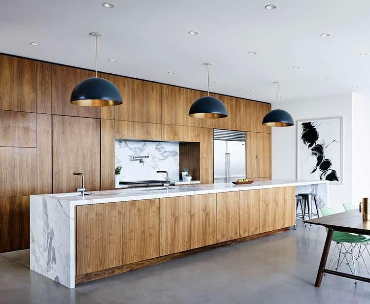 Фото | Гранитная столешница на кухне. Дизайн Hazelbaker Rush