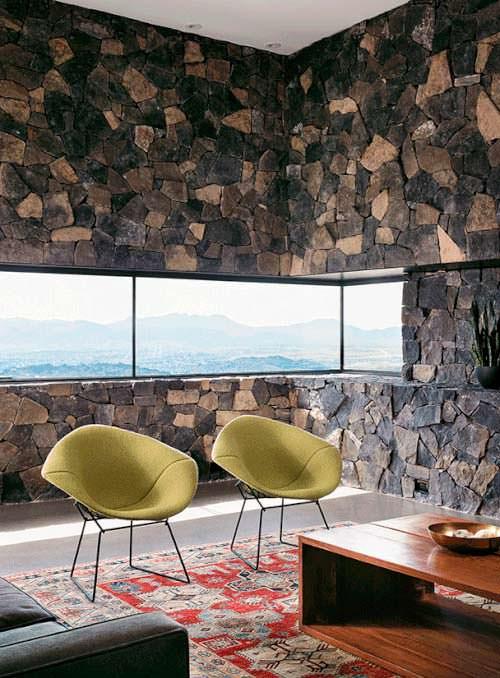 Фото | Внутренний дизайн каменной кладки в доме