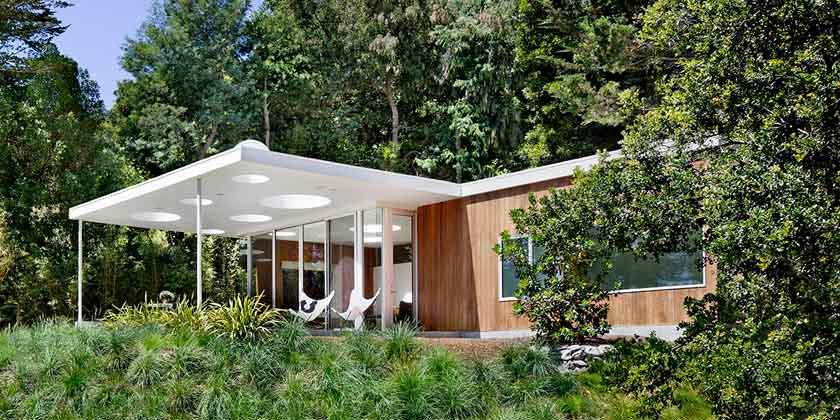 Фото | Гостевой дом среди деревьев от Turnbull Griffin Haesloop