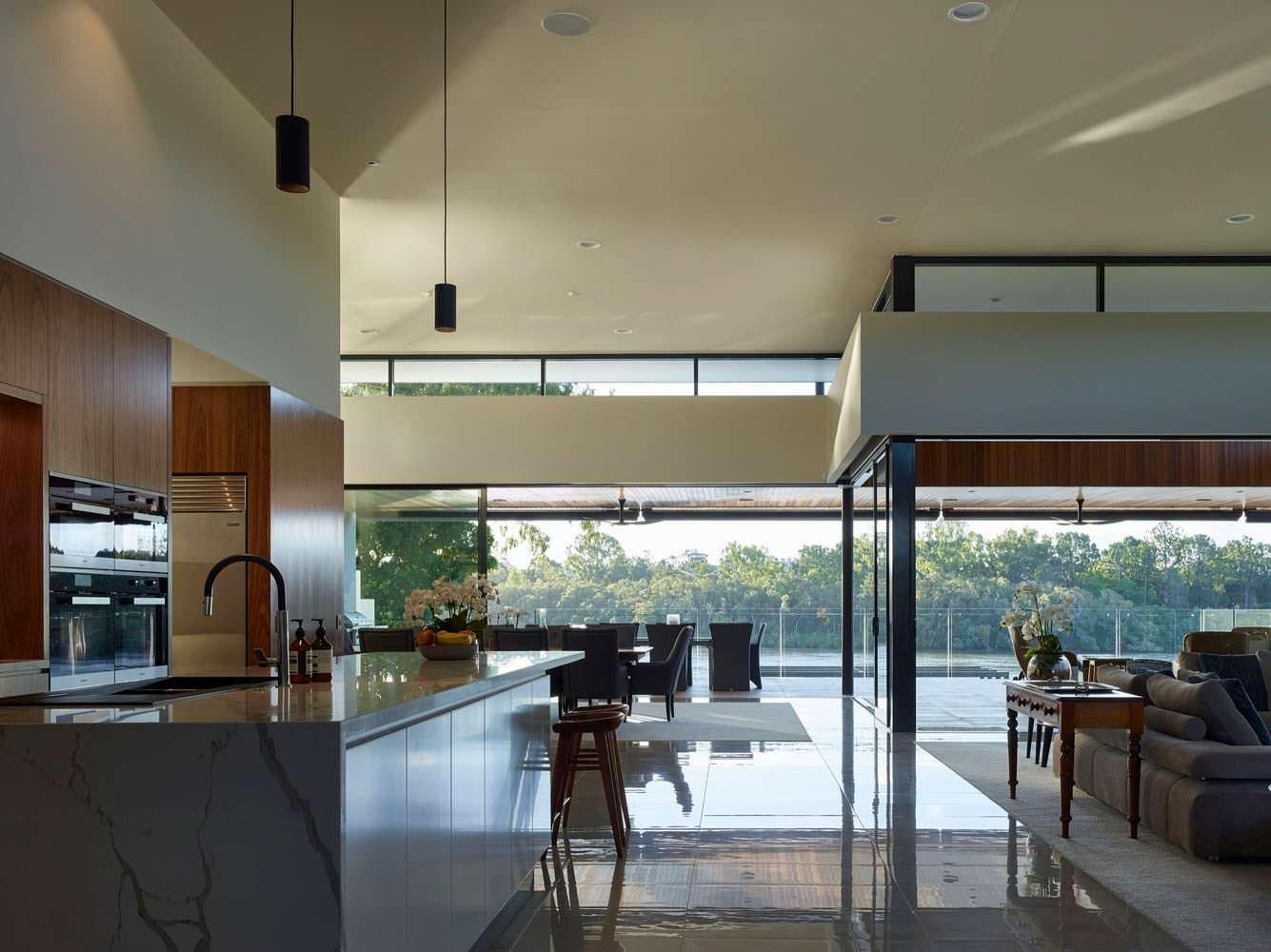 Фото | Кухня в стиле hi-tech. Проект Ellivo Architects