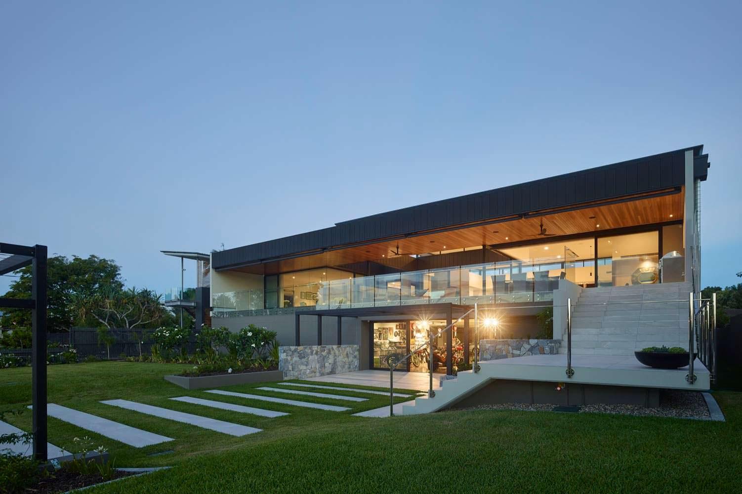 Фото | Hi-tech дом на берегу реки Брисбен C2 House