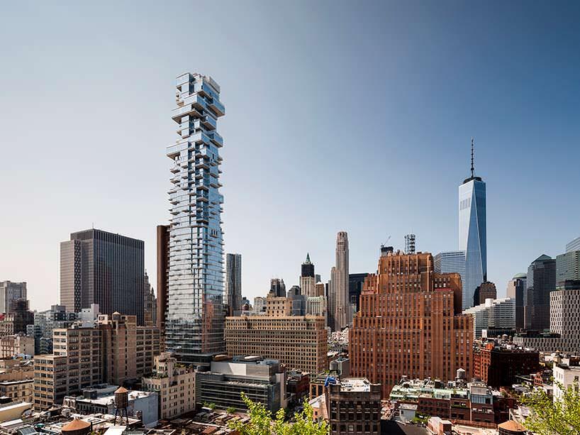 Фото | Башня 56 Leonard в Нью-Йорке