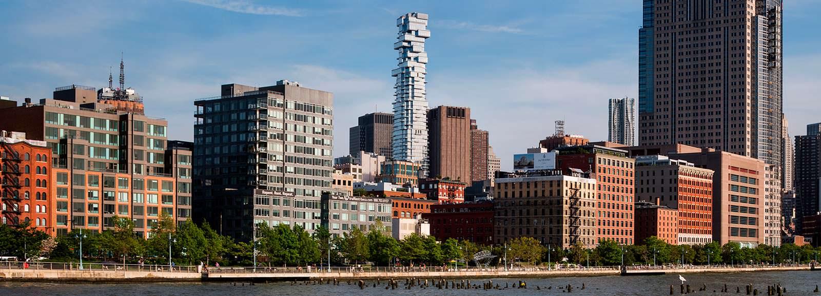 Фото | 56 Leonard: новая башня Нью-Йорка