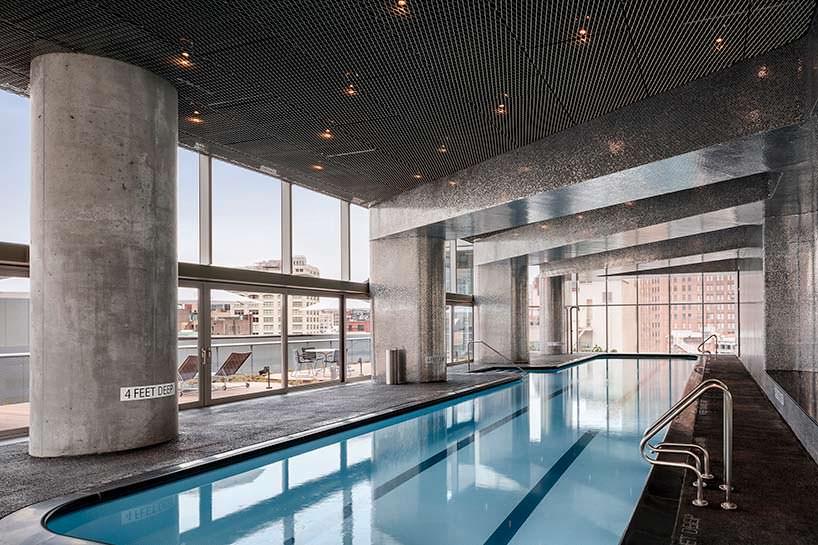 Небоскреб с бассейном 56 Leonard. Проект Herzog & De Meuron