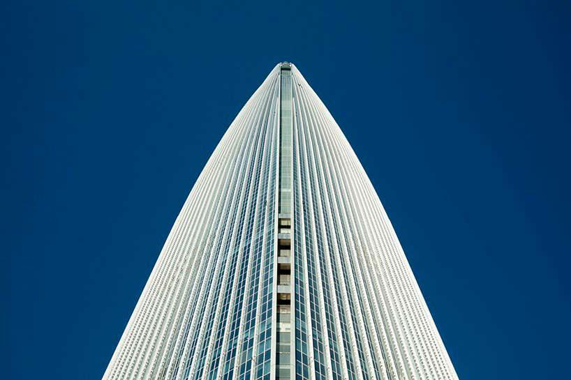 Самая высокая башня Сеула Lotte World Tower от KPF