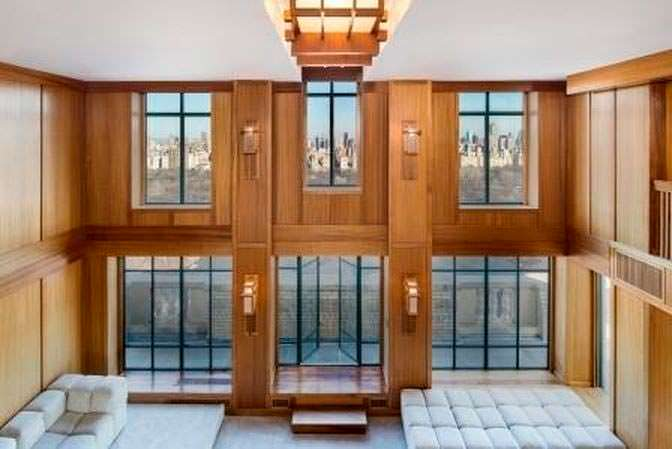 Трёхэтажная квартира Деми Мур в Нью-Йорке