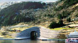 Snøhetta построит первый тоннель для кораблей | фото, видео