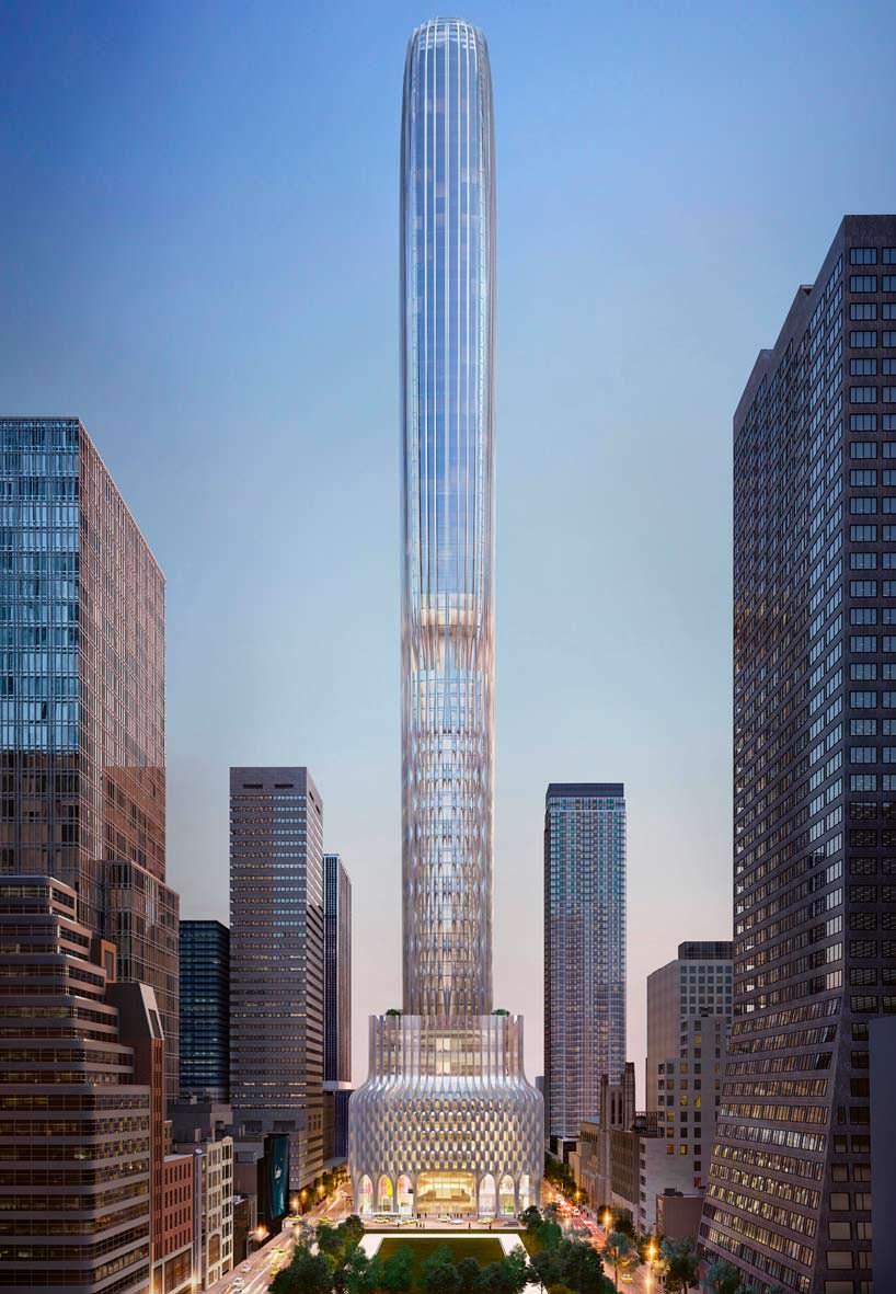 Фото | Самый высокий небоскреб Zaha Hadid Architects