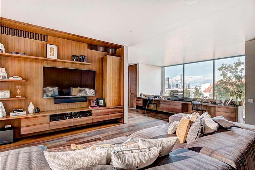 Фото | Элитный дизайн гостиной от Elias Rizo Arquitectos