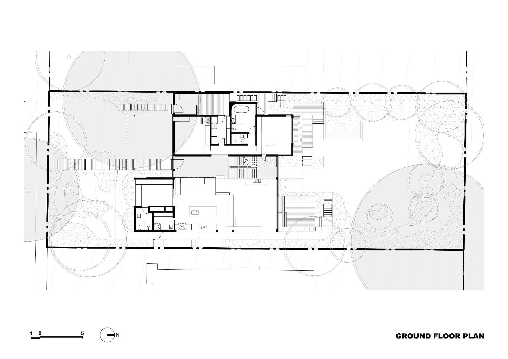 Проект экологичного двухэтажного дома от Zen Architects
