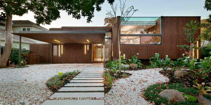 Trail House: солнечный дизайн дома от Zen Architects | фото
