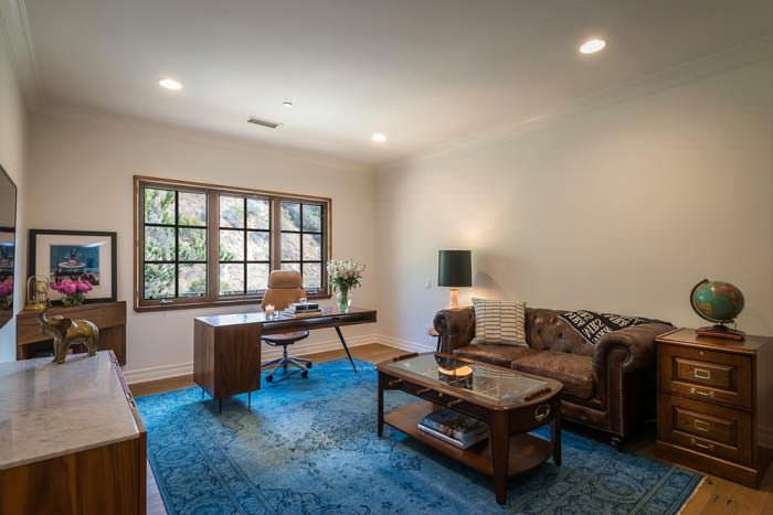 Интерьер кабинета в доме писательницы Лорен Конрад