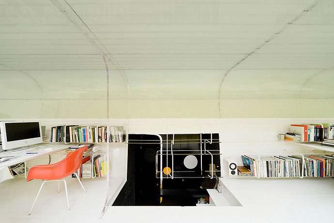 Интересный интерьер офиса Selgas Cano в Мадриде