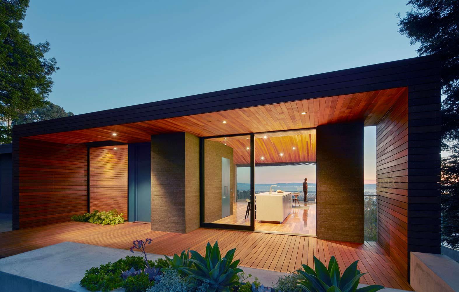 Панорамный дом в Калифорнии. Проект Terry & Terry Architecture