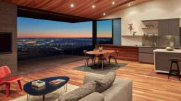 Панорамный дом в Калифорнии. Проект Terry & Terry Architect
