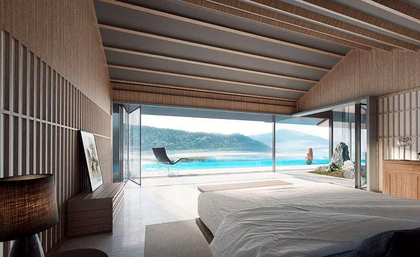 Роскошный курорт в китайском стиле на острове Хэнгчин