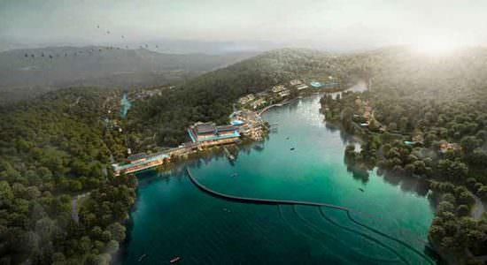 Aedas построит роскошный курорт и отель в китайском стиле