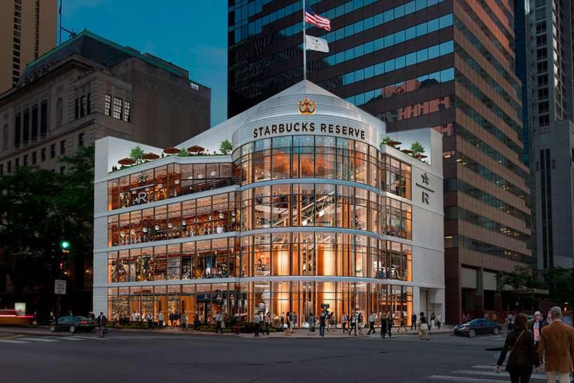 Starbucks Coffee в Чикаго: крупнейшая кофейня в мире