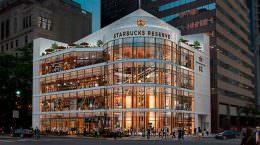 В Чикаго откроется крупнейшая кофейня Starbucks Coffee | фото