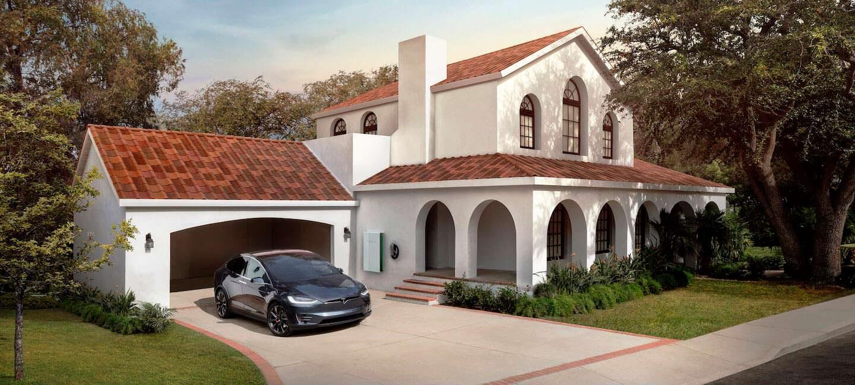 Солнечная крыша Tesla Solar Roof от Илона Маска