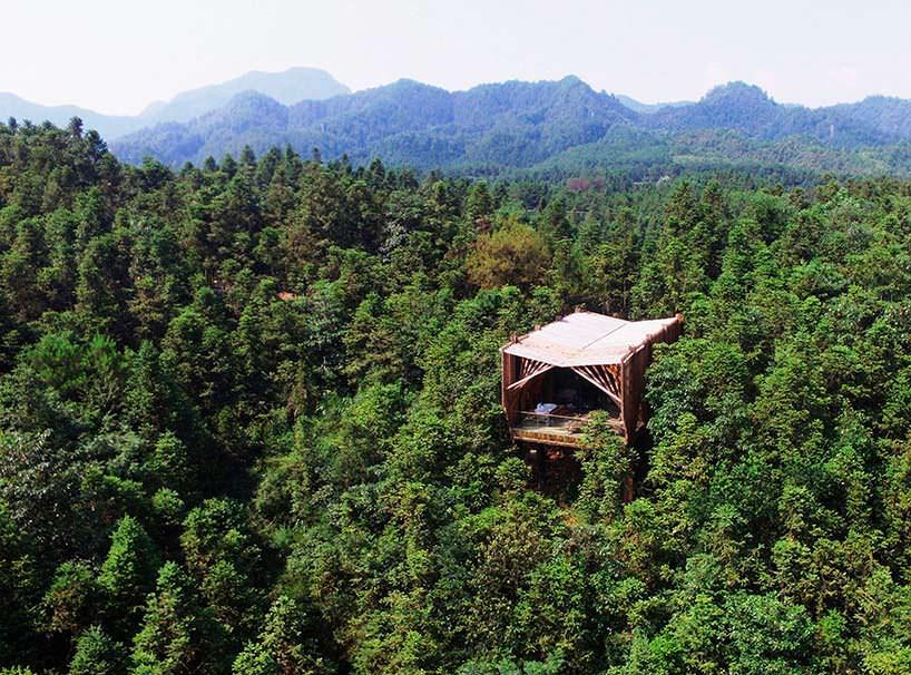 treehouse M: дом над кронами деревьев от lanD studio