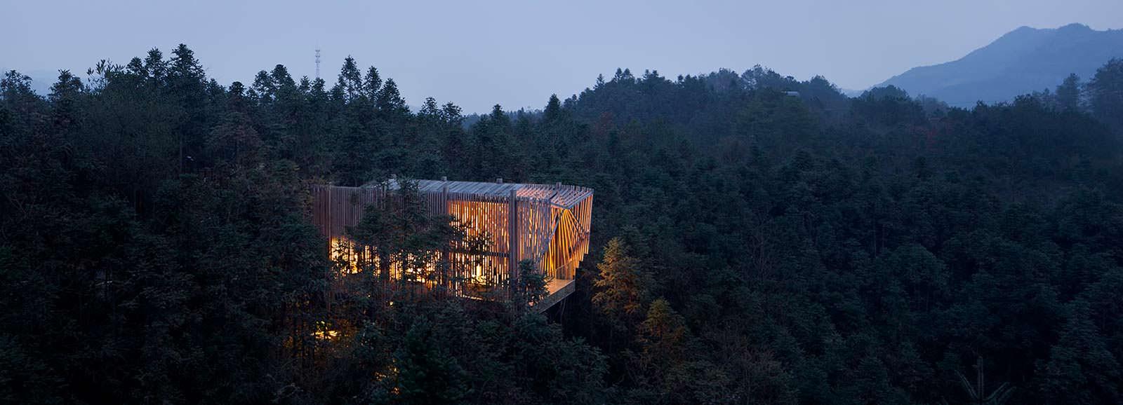treehouse M: дом на дереве по-китайски от lanD studio