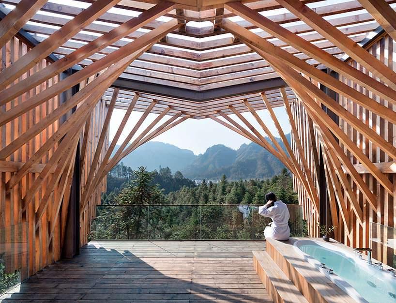 Фото | Панорамная терраса в доме на дереве от lanD studio