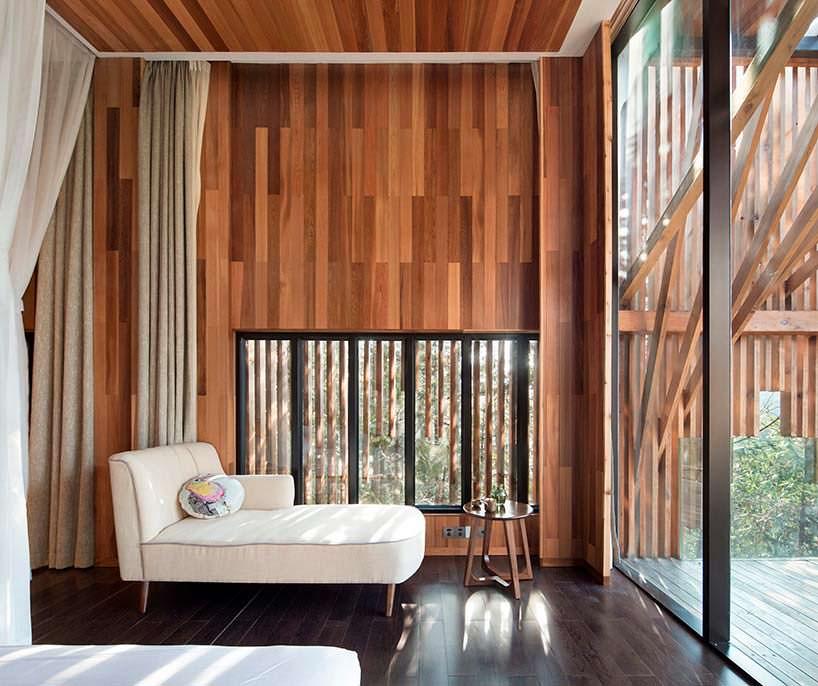 Фото | Дизайн спальни дома на дереве от lanD studio