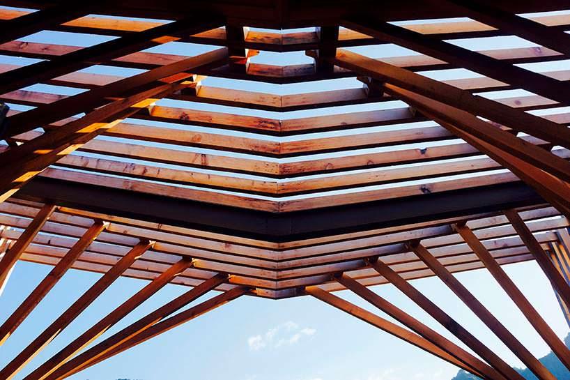 Фото | Крыша дома на дереве в китайском стиле