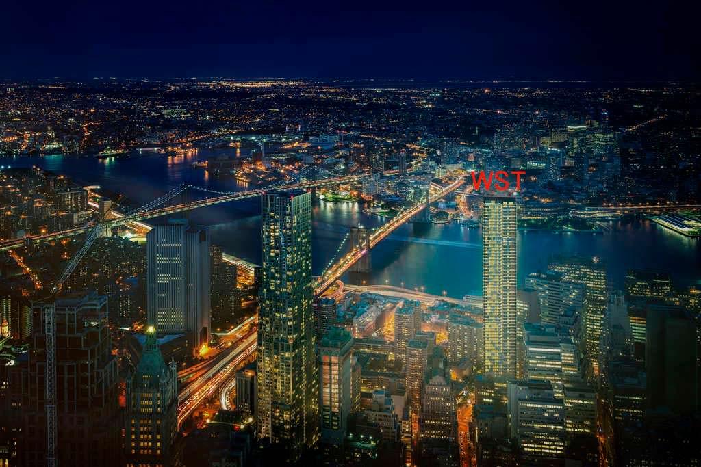 Дизайн башни Wall Street Tower от Adjaye Associates