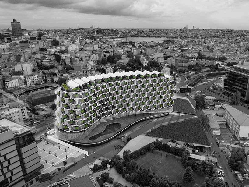 Фото | Урбанистический ЖК в Стамбуле. Проект Eray Carbajo