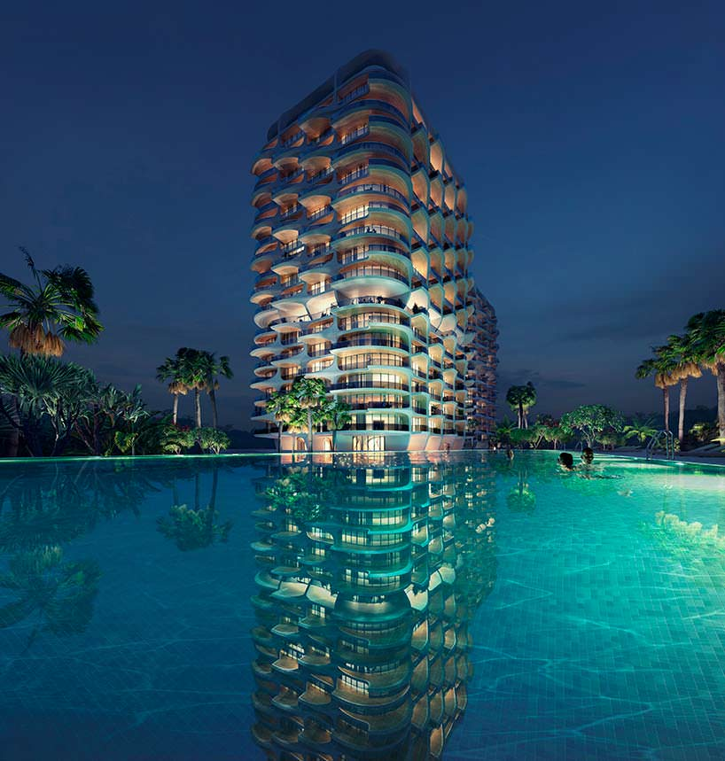 Элитный жилой комплекс Alai. Проект Zaha Hadid Architects