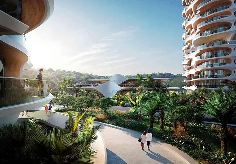 Элитный ЖК Alai в Ривьере Майя от Zaha Hadid Architects