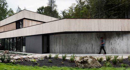 Дом на берегу озера в Канаде от ACDF Architects | фото