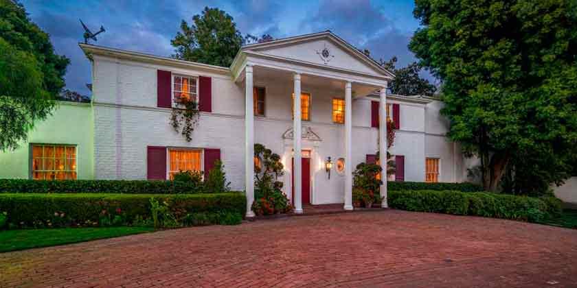 Продается дом Одри Хепбёрн в Холмби-Хиллз | фото, цена