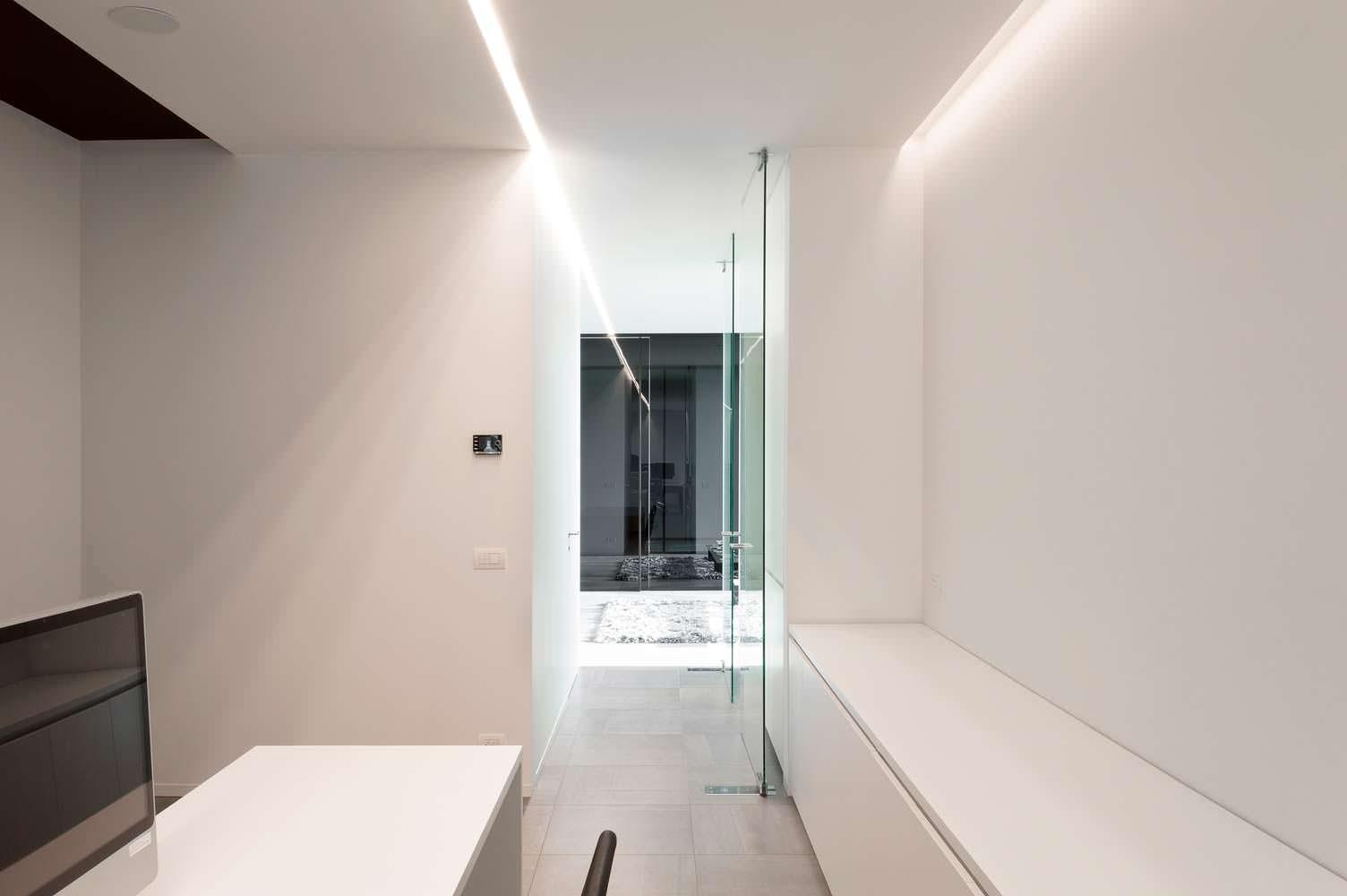Дизайн в стиле минимализм от DE JAEGHERE Architectuuratelier