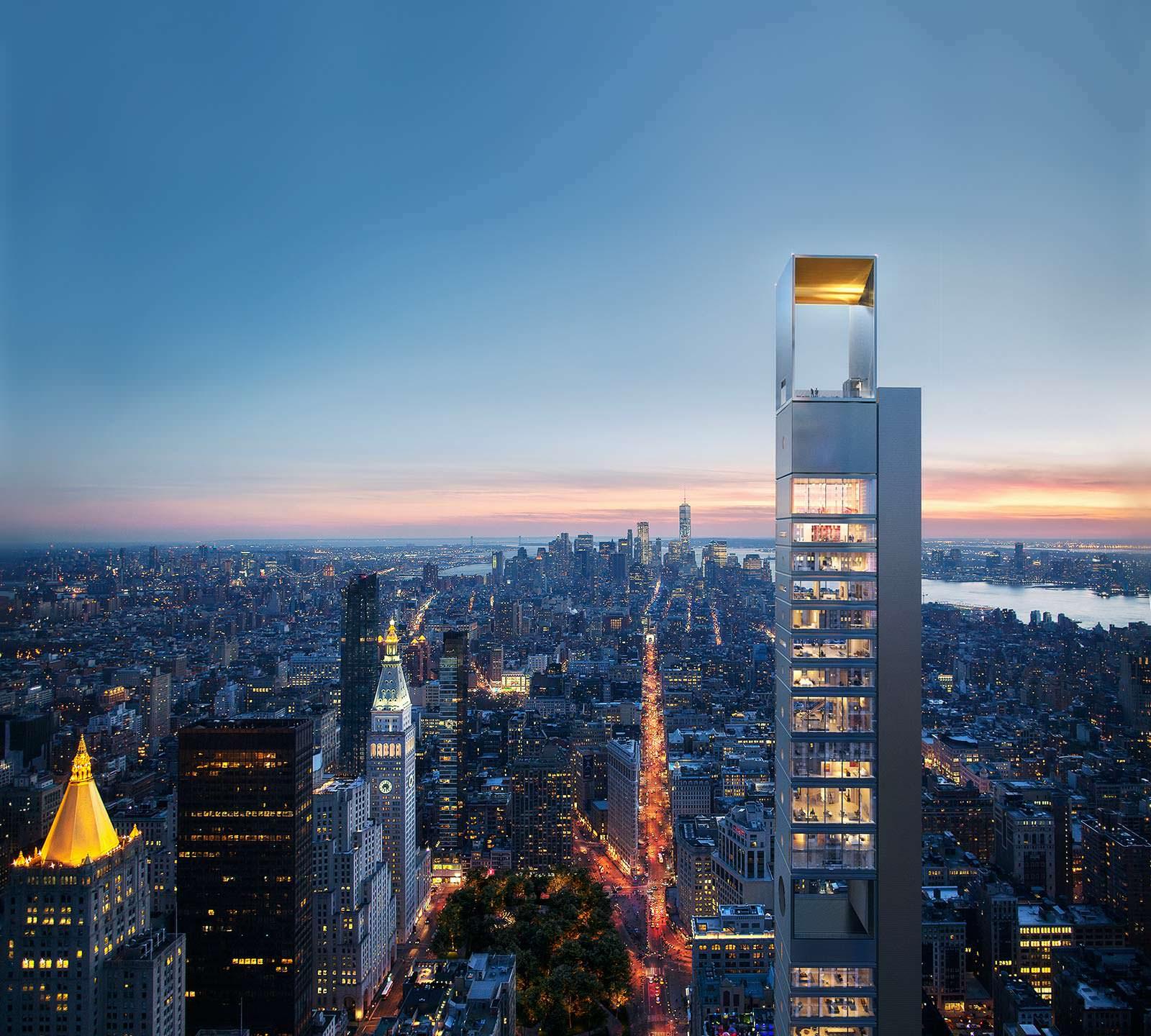 Русский небоскреб на Манхэттене от студии Meganom из Москвы