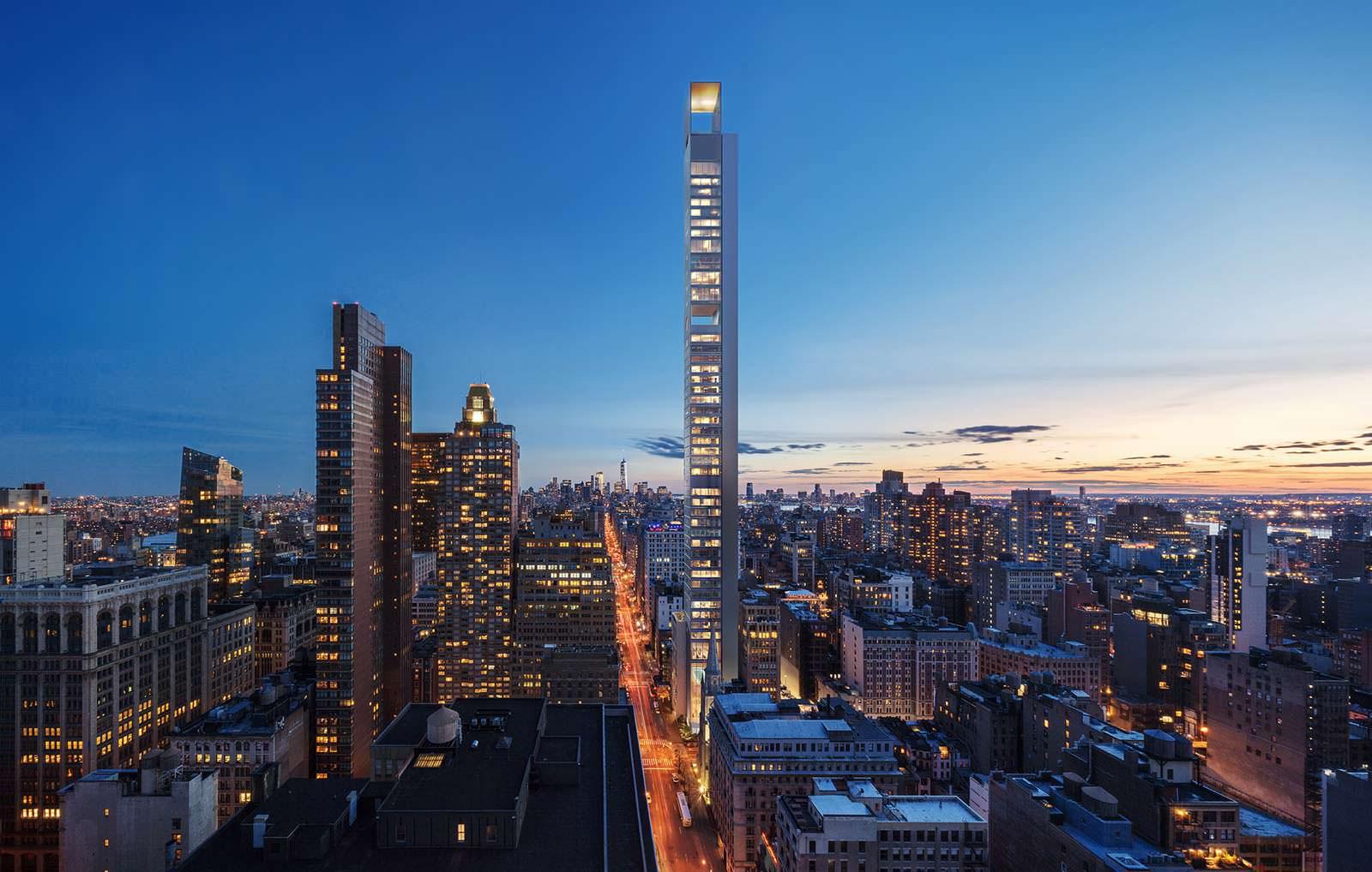 Фото | Жилой небоскреб для Манхэттена. Проект Meganom