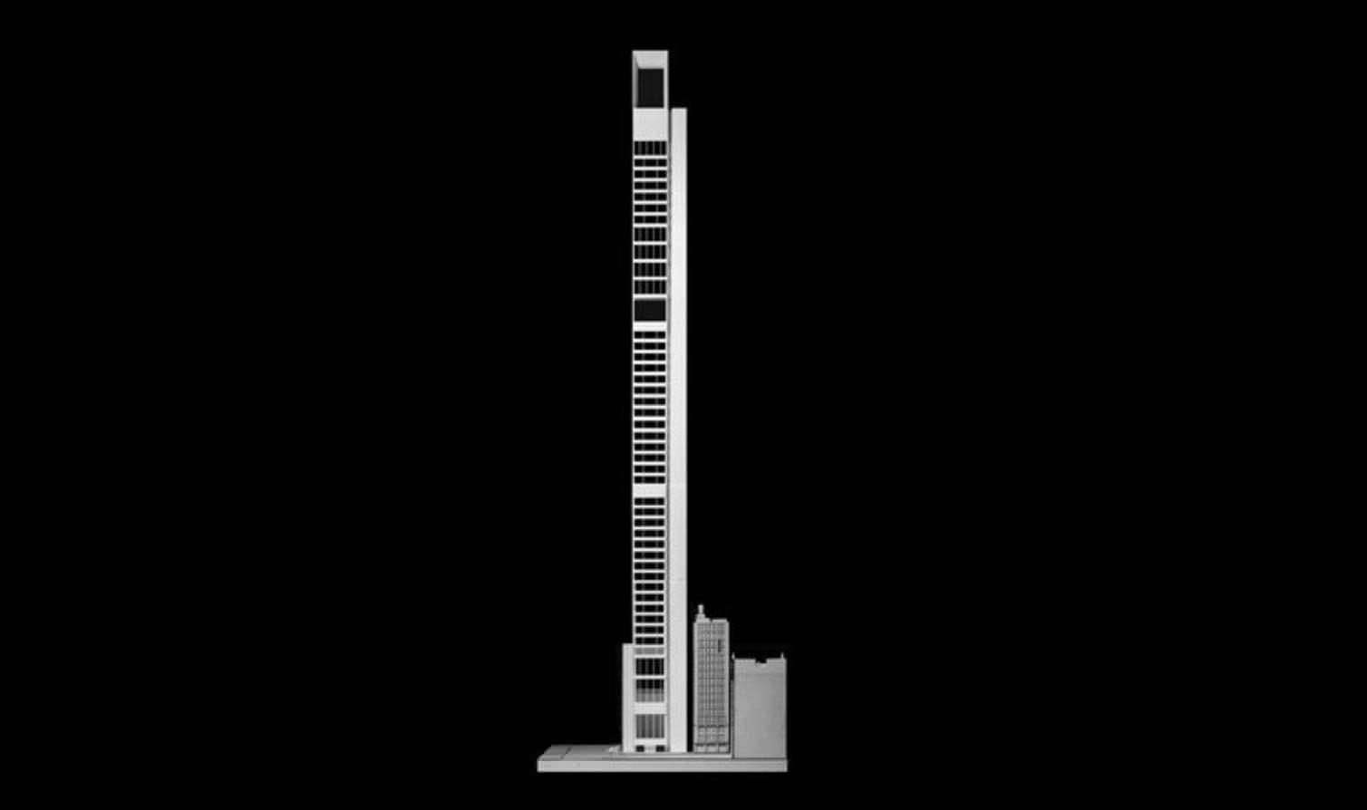 Проект 305-метрового небоскреба для Манхэттена от Meganom
